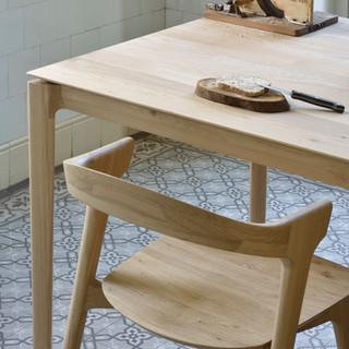 51499 Bok dining table - Oak 51490 Bok c