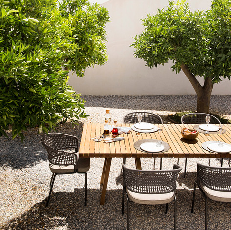 Table Vis à Vis et Fauteuil CTR