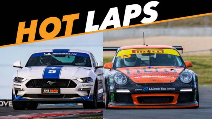Mustang & Porsche Hot Laps
