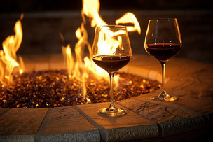 Wine & Fire Perfect Combination