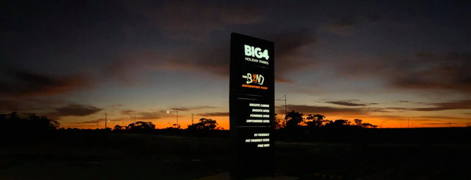 Sunrise at BIG4