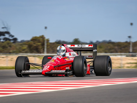 Lap record falls at The Bend Classic as F1 takes dramatic shootout