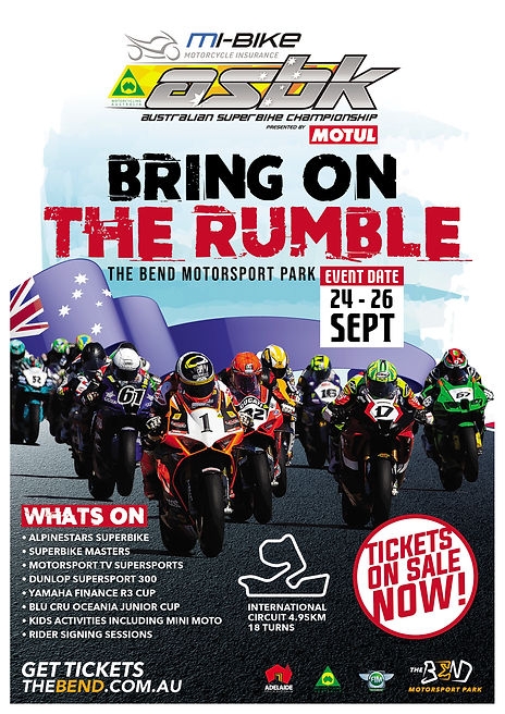 A4 ASBK BRING ON THE RUMBLE THE BEND POSTER 20210708.jpg