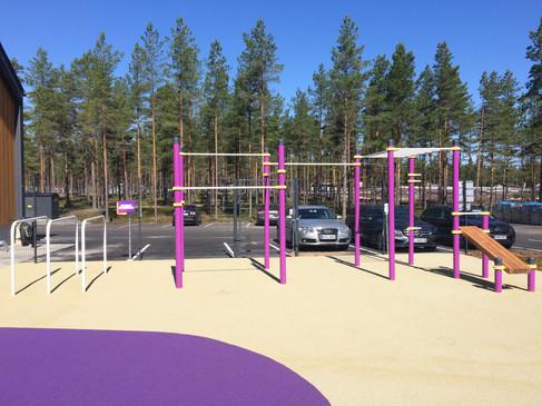 Street workout telineet Super Park Kalajoki