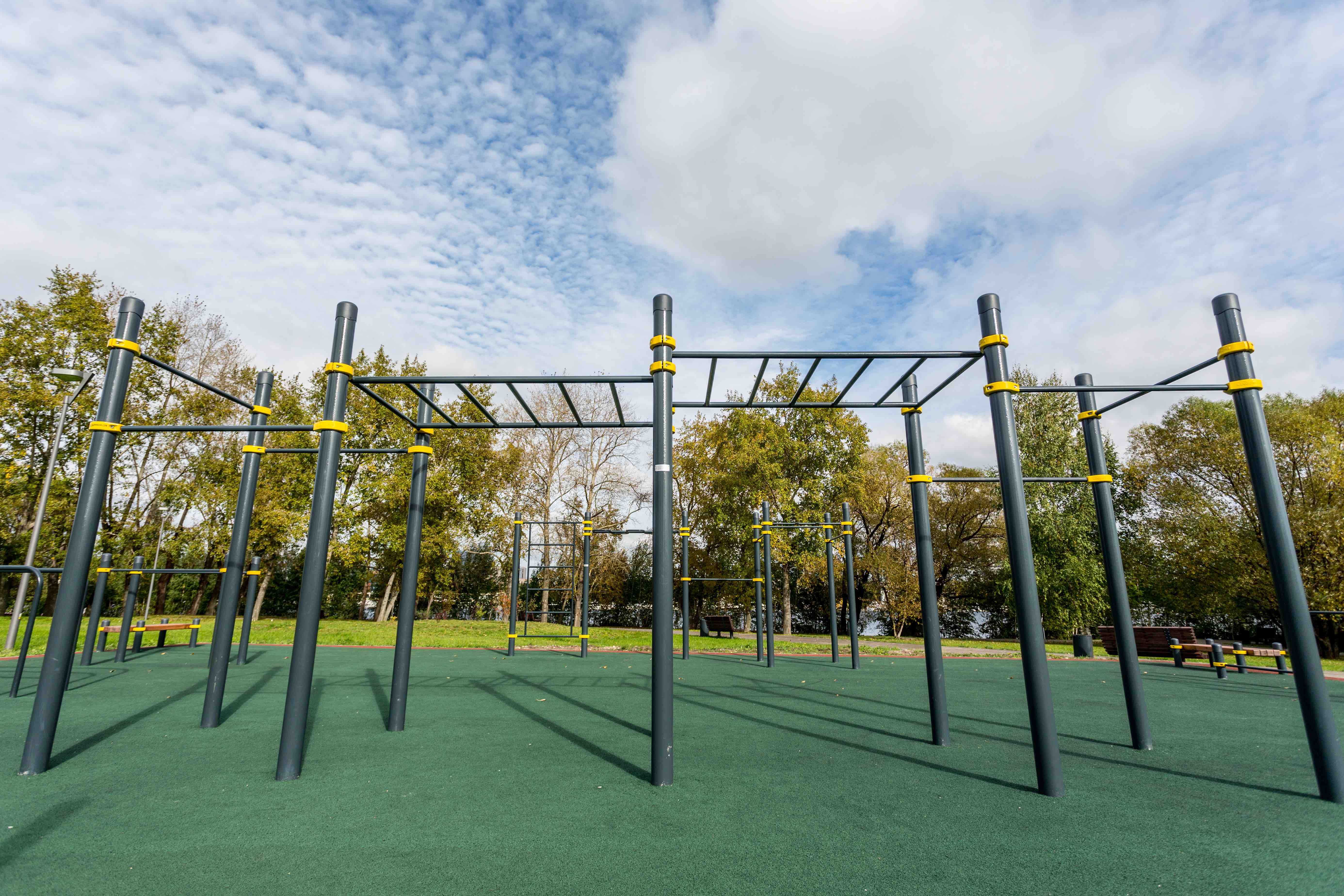 Street Workout - Kaupungin puistossa