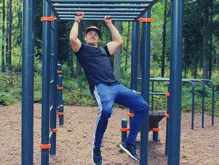 Hämeenlinnaan uusi Kenguru Pro treenipuisto