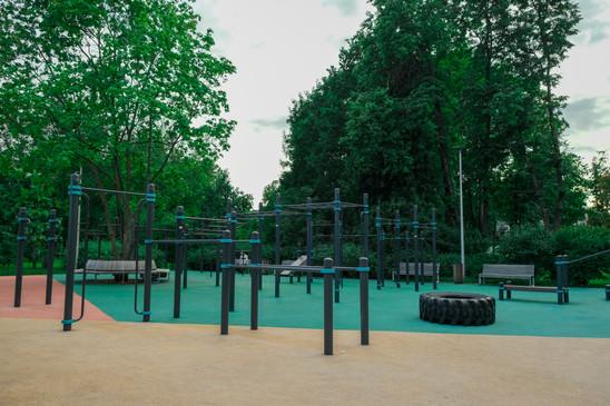 Esteetön lähiliikuntapuisto liikuntarajotteisille