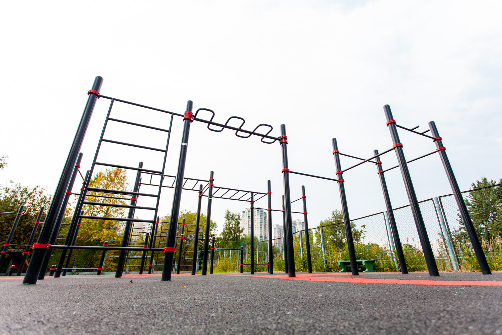 Street Workout lähiliikuntapuisto