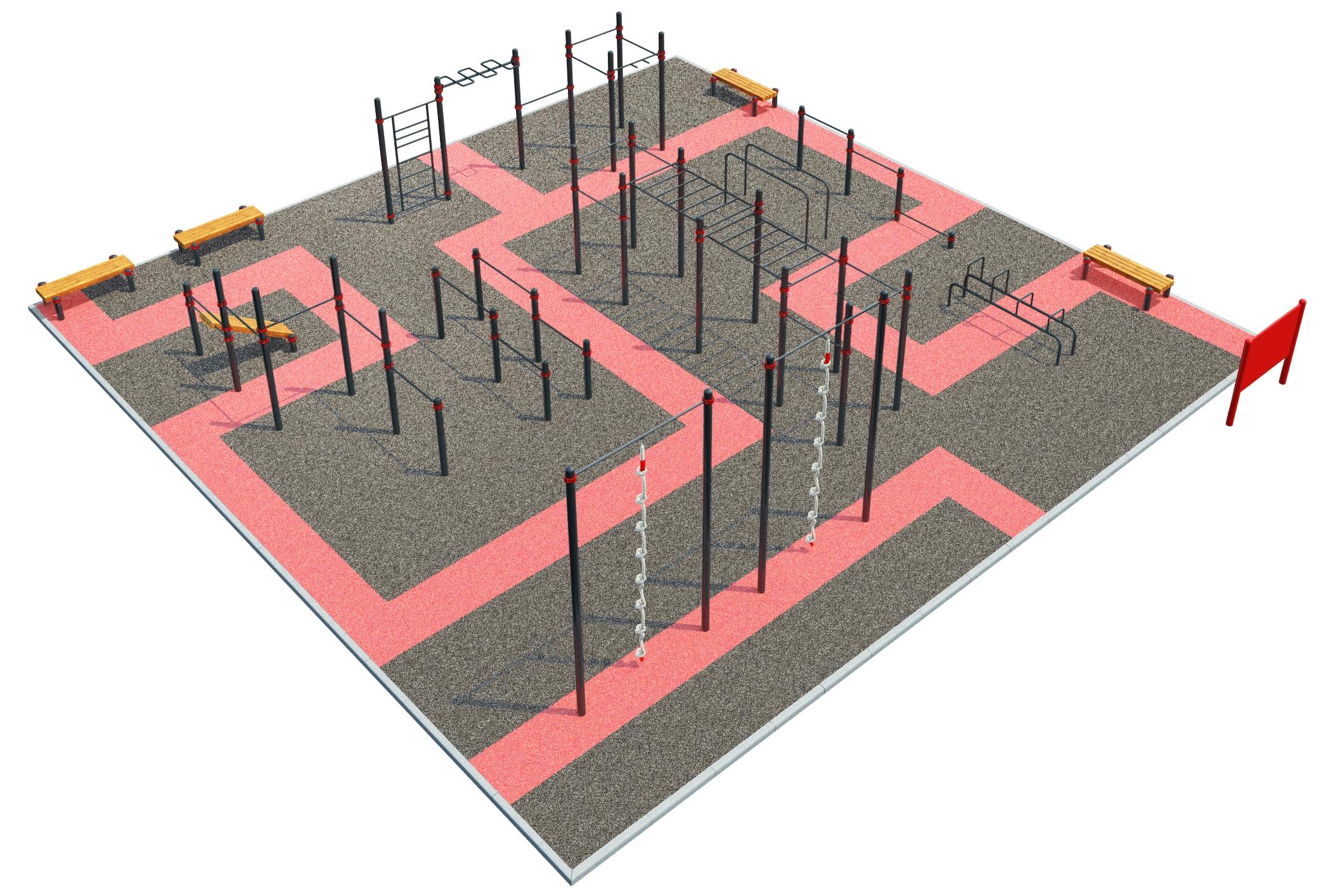 Street Workout - lähiliikuntapuisto