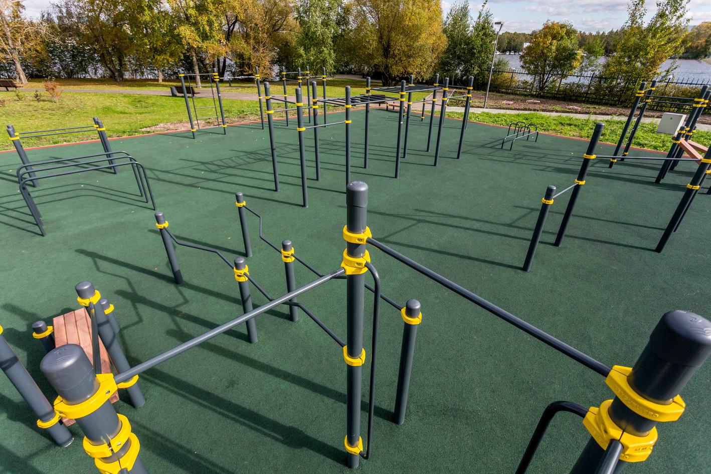 Esteetön liikuntapuisto