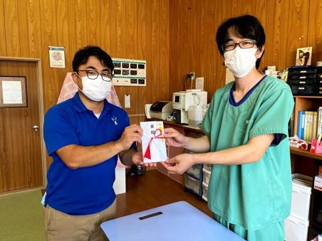 【ご報告】NPO法人どうぶつたちの病院にグッズ売上の一部を寄付しました。