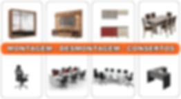 Montagem e desmontagem de móveis em SP