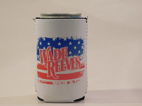Wade Reeves Patriotic Neoprene Premium Koozie