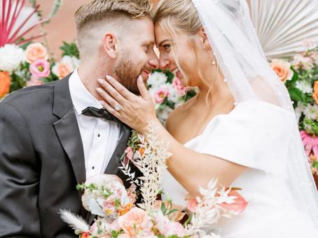 Enchanting Historical + Modern Spring Wedding Inspiration
