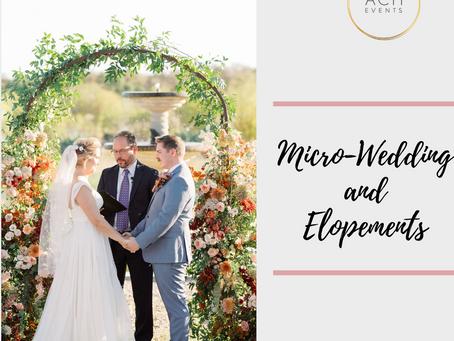 Intimate Wedding Experiences