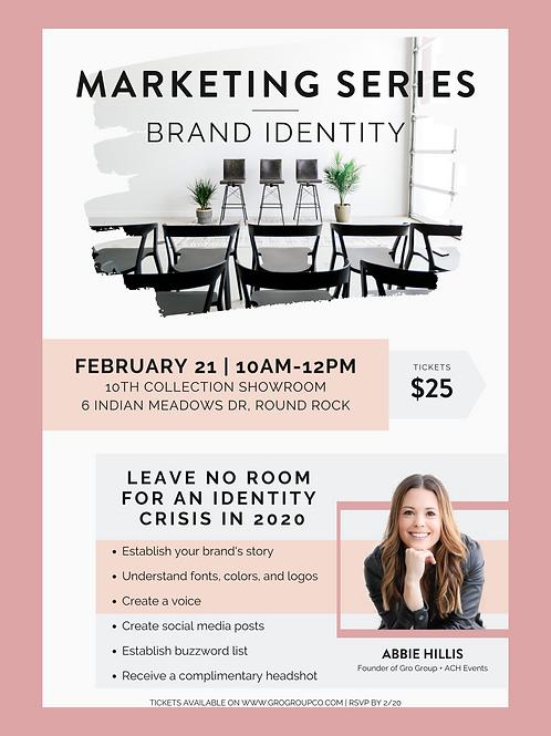 Marketing Series - Brand Identity