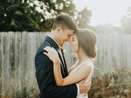 Simple Intimate Summer Wedding