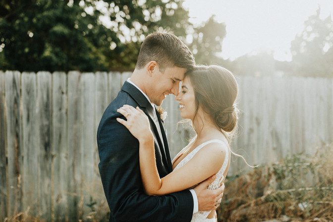 Simple Intimate Summer Wedding