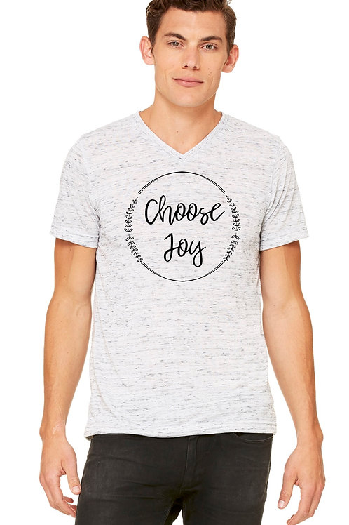 Unisex Choose Joy Jersey T-Shirt