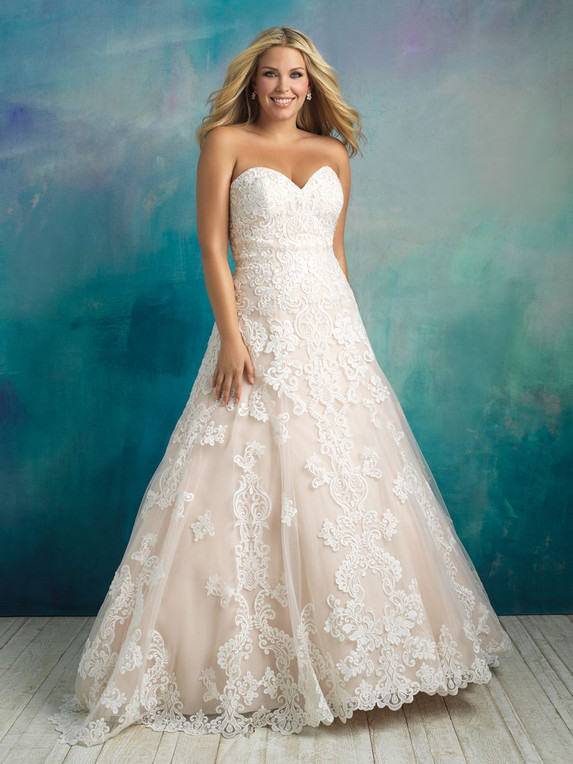 Allure Bridals W413