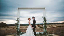 Modern + Rural Austin Wedding