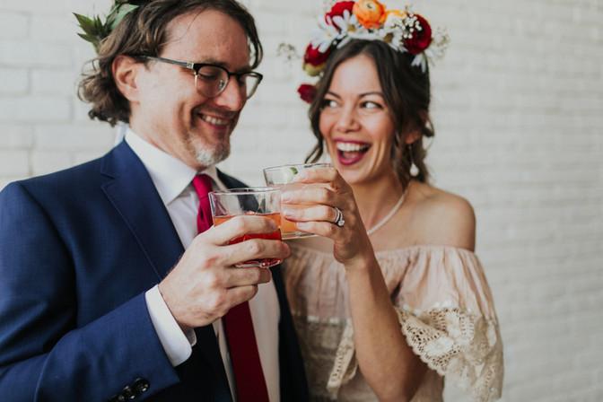 Simple Natural Vintage Wedding