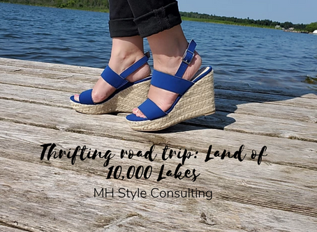 Thrifting road trip: Land of 10,000 Lakes