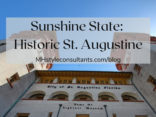 Sunshine State: Historic St. Augustine