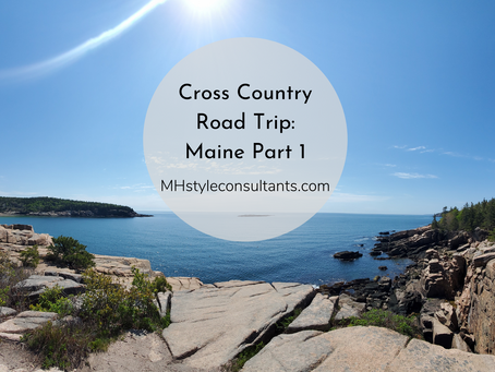 Cross Country Road Trip: Maine Part 1