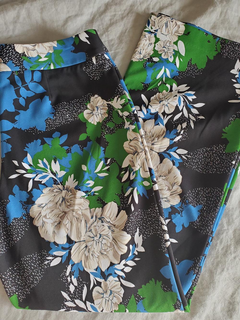 i.n.c floral pants