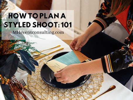 How To Plan a Styled Shoot: 101