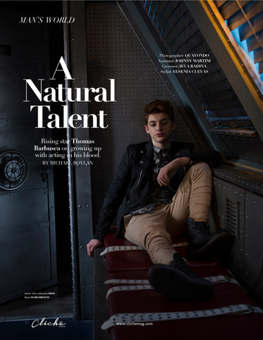 Cliché Magazine - Thomas Barbusca