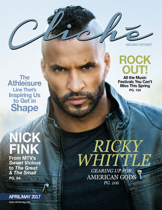 Cliché Magazine - Ricky Whittle