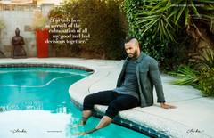 Cliché Magazine - Ricky Whittle