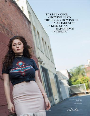 Cliché Magazine - Emma Kenney
