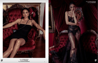 'THE SOIRÉE CLUB' Fashion Editorial for Qpmag Feb 2020 Issue