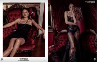 'THE SOIRÉE CLUB' Fashion Editorial for Qpmag Feb 2020 Issue