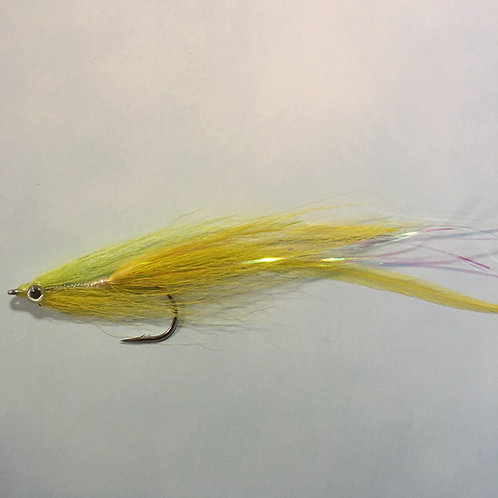 Lemon/lime 2 Feather Flatwing 2/0