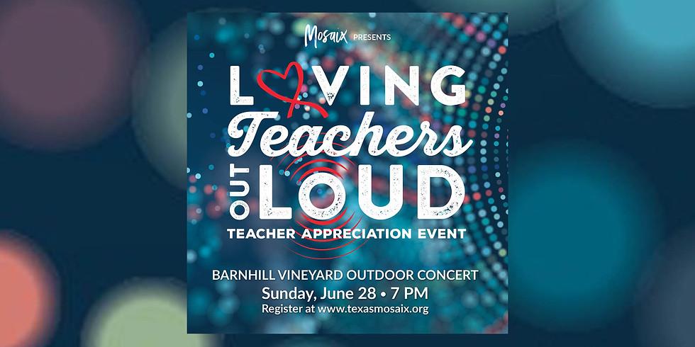 Teacher Appreciation-Barnhill Vineyards