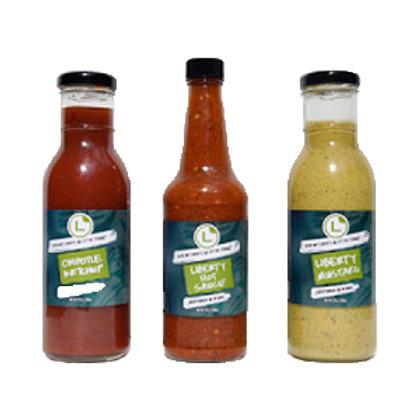 Liberty Burger Sauce Trio