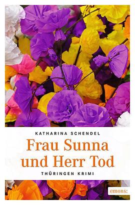 """Buchcover """"Frau Sunna und Herr Tod"""""""
