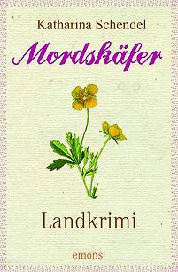 """Buchcover """"Mordskäfer"""""""