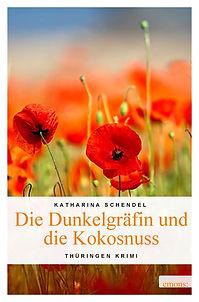"""Buchcover """"Die Dunkelgräfin und die Kokosnuss"""""""