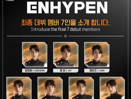 Les 7 gagnants d'I-LAND : ENHYPEN