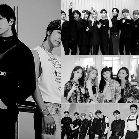 Retour sur 4 titres K-pop en ce début septembre !