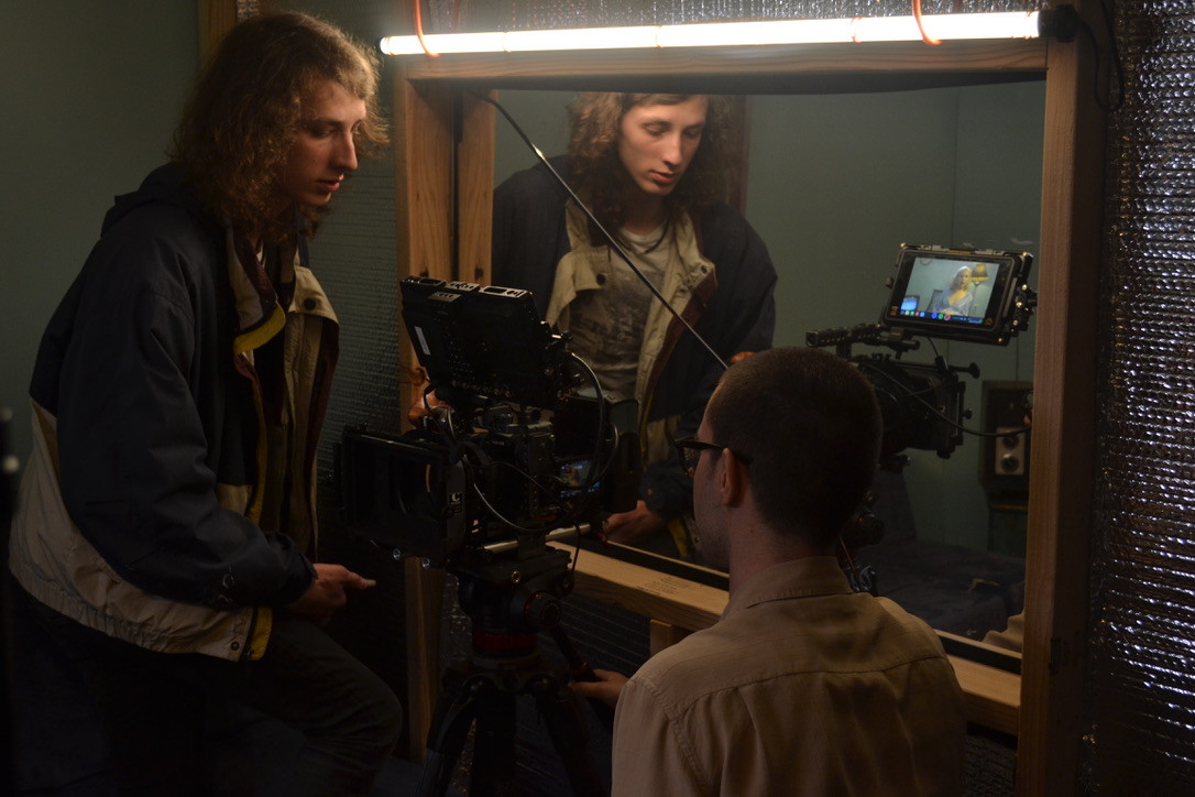 Director Ronan Day-Lewis and DP Andrew Schmidt