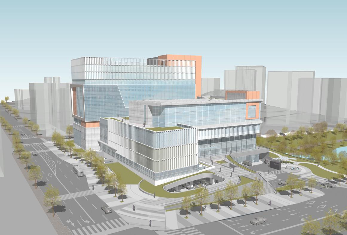 서남병원 증축 및 리모델링 설계공모   | 당선작 |  2021