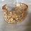 Thumbnail: Gold Leaf Resin Cuff