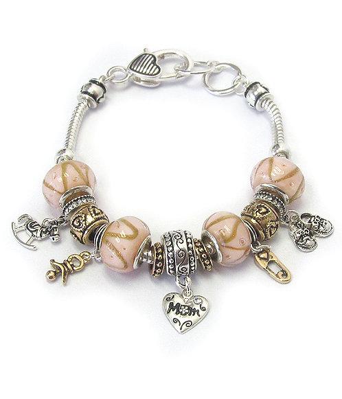 Mom European Style Bracelet