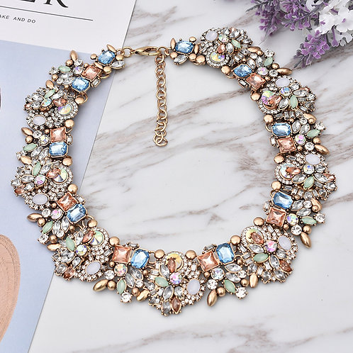 Vintage Style Collar Choker Necklace